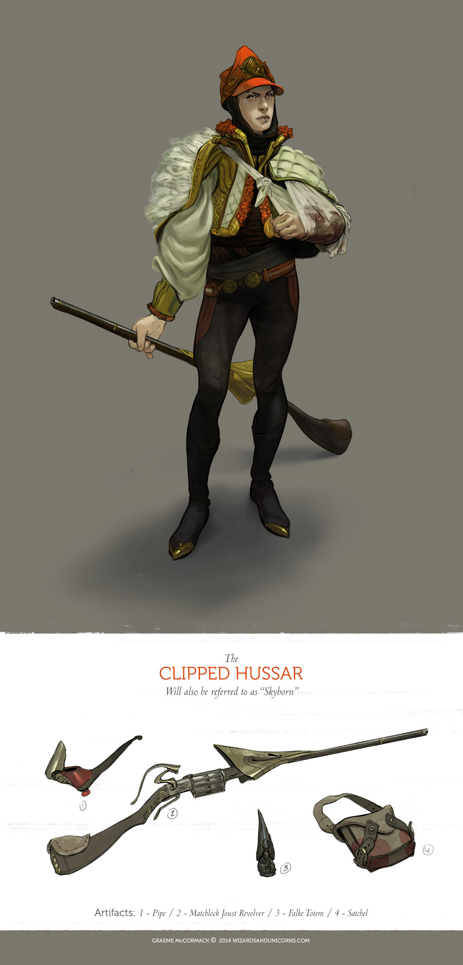 The Clipped Hussar